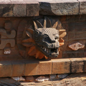 Teotihuacan Quetzalcoatl temploma