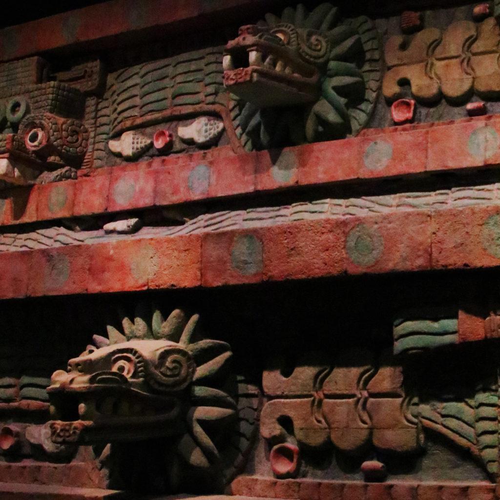 Quetzalcoatl templom másolata